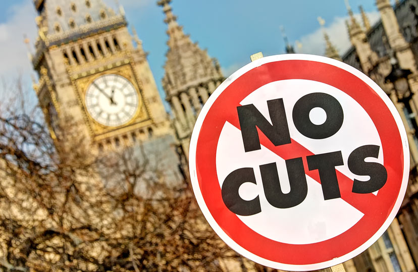 Cuts and restructuring